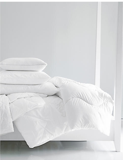 THE WHITE COMPANY: Breathable cotton single duvet 140cm x 200cm