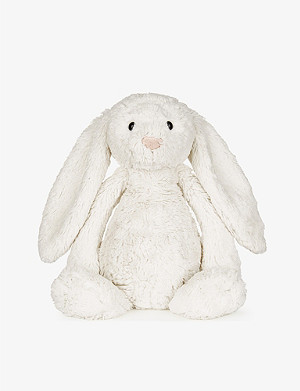 THE LITTLE WHITE COMPANY Medium Bashful Bunny soft toy 31cm