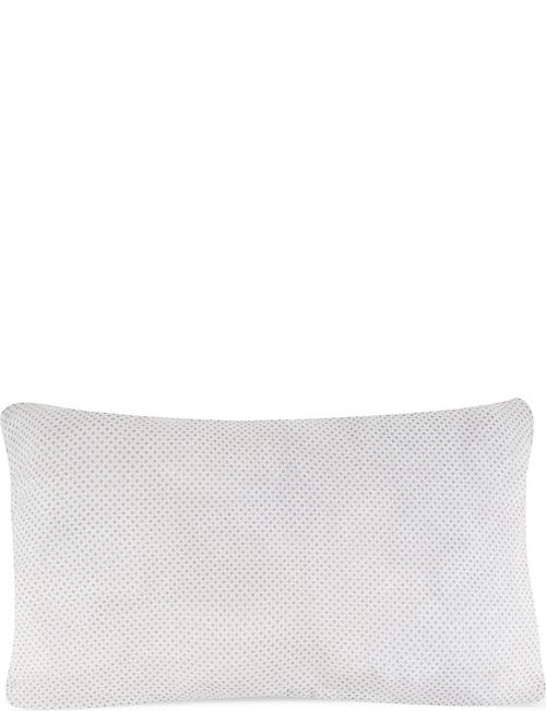 THE LITTLE WHITE COMPANY Elephants quilted cushion cover