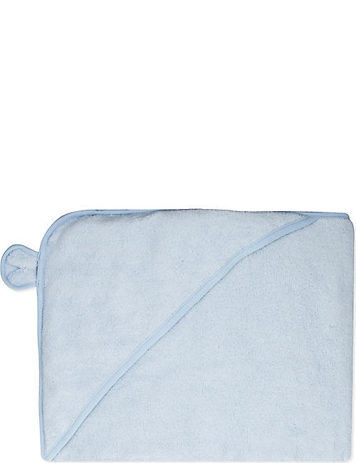 THE LITTLE WHITE COMPANY Bear hydrocotton hooded towel