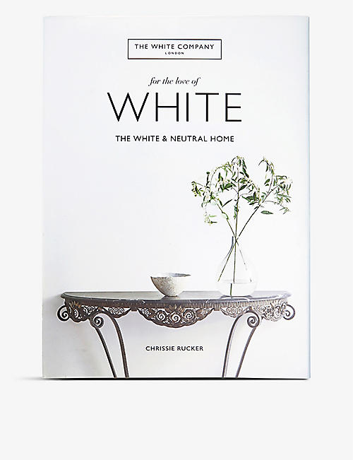 THE WHITE COMPANY For the Love of White book