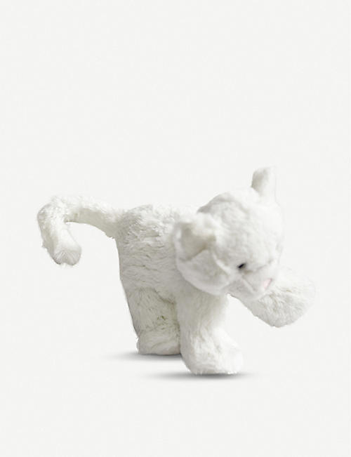 THE LITTLE WHITE COMPANY Mini Bella Kitten soft toy