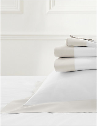 THE WHITE COMPANY: Camborne cotton-sateen pillowcase