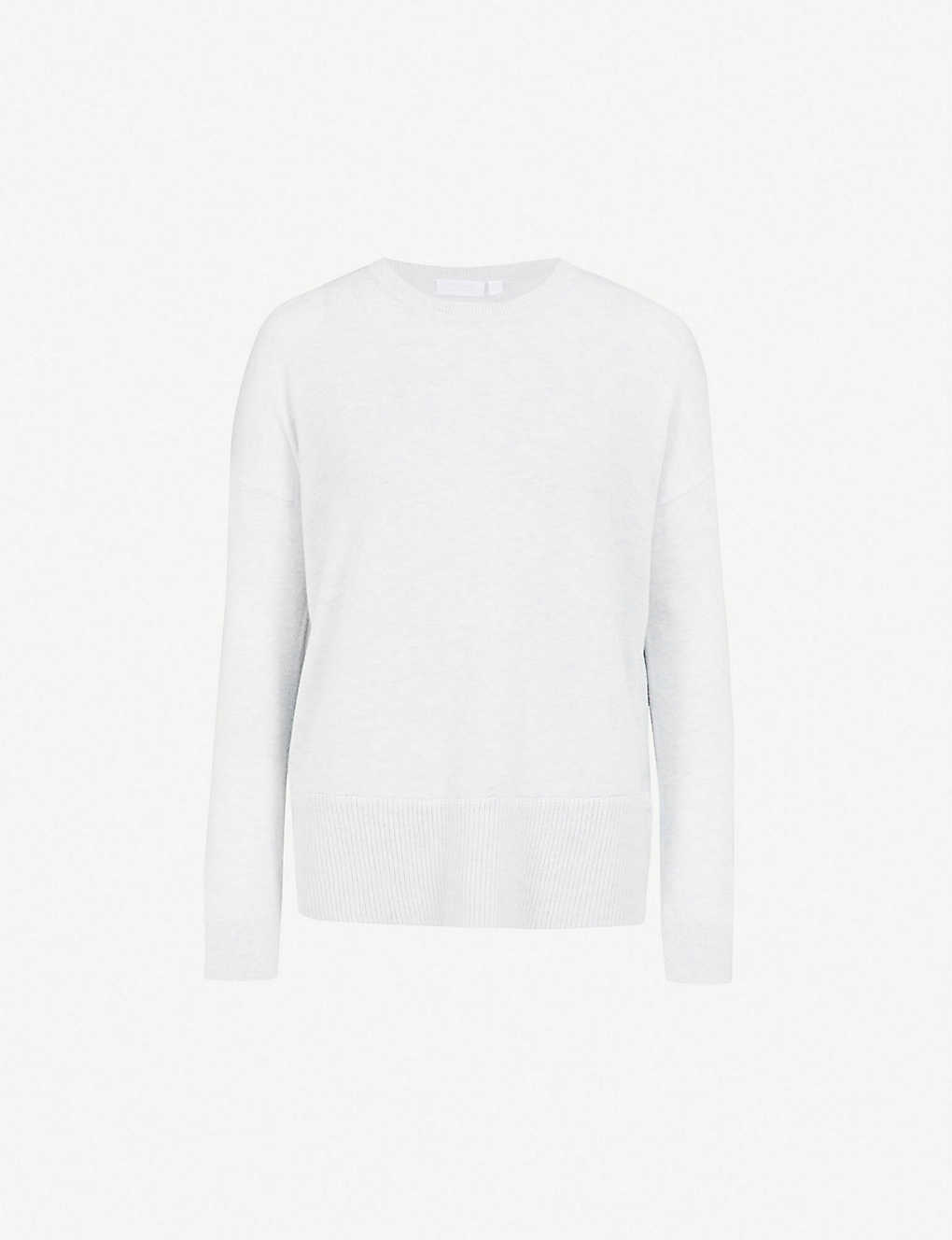 877af061fd THE WHITE COMPANY - Button-side knitted jumper | Selfridges.com