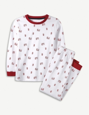 THE LITTLE WHITE COMPANY Mini bus pyjamas 1-6 years