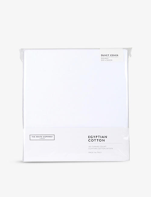 THE WHITE COMPANY: Egyptian cotton sateen double duvet cover