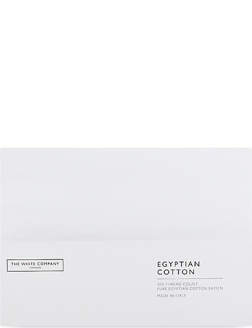 THE WHITE COMPANY Egyptian cotton sateen standard housewife pillowcase