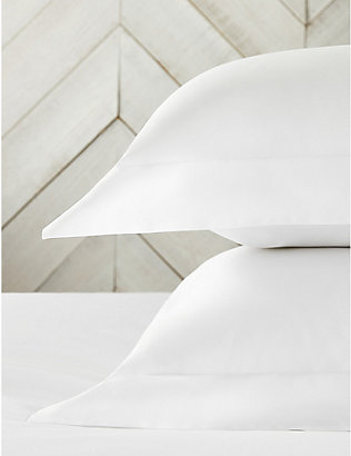 THE WHITE COMPANY: Egyptian cotton pillowcase 50cm x 75cm