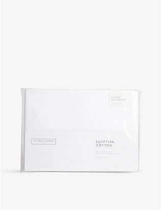 THE WHITE COMPANY: Egyptian cotton superking pillowcase 50cm x 90cm
