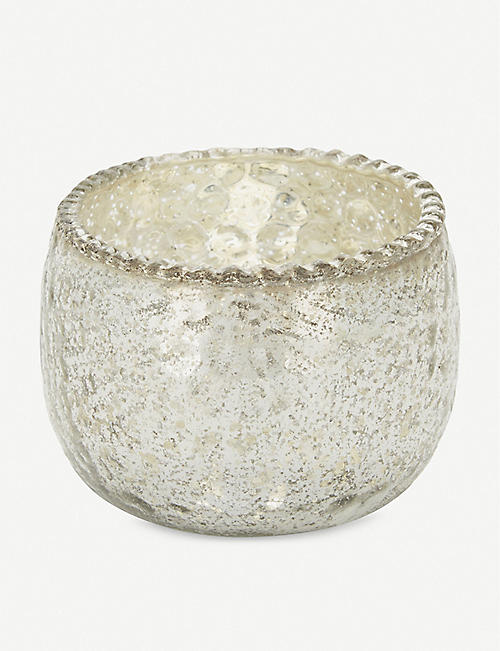 THE WHITE COMPANY 水银玻璃 tealight 架6厘米