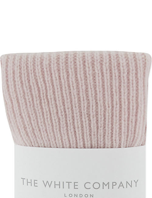 THE WHITE COMPANY Cashmere bedsocks