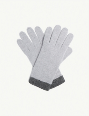 THE WHITE COMPANY Classic cashmere gloves
