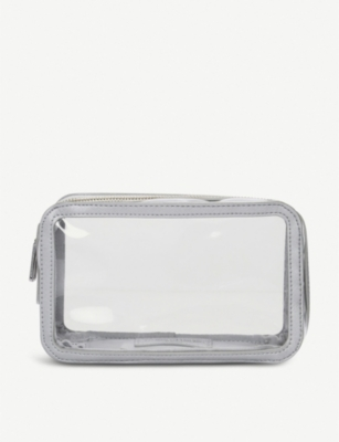 THE WHITE COMPANY Clear cosmetics bag