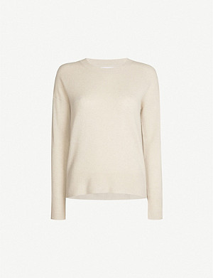 THE WHITE COMPANY Boxy-fit cashmere jumper