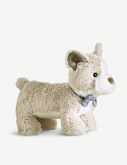 THE LITTLE WHITE COMPANY Cornelius The Corgi soft toy medium 21cm