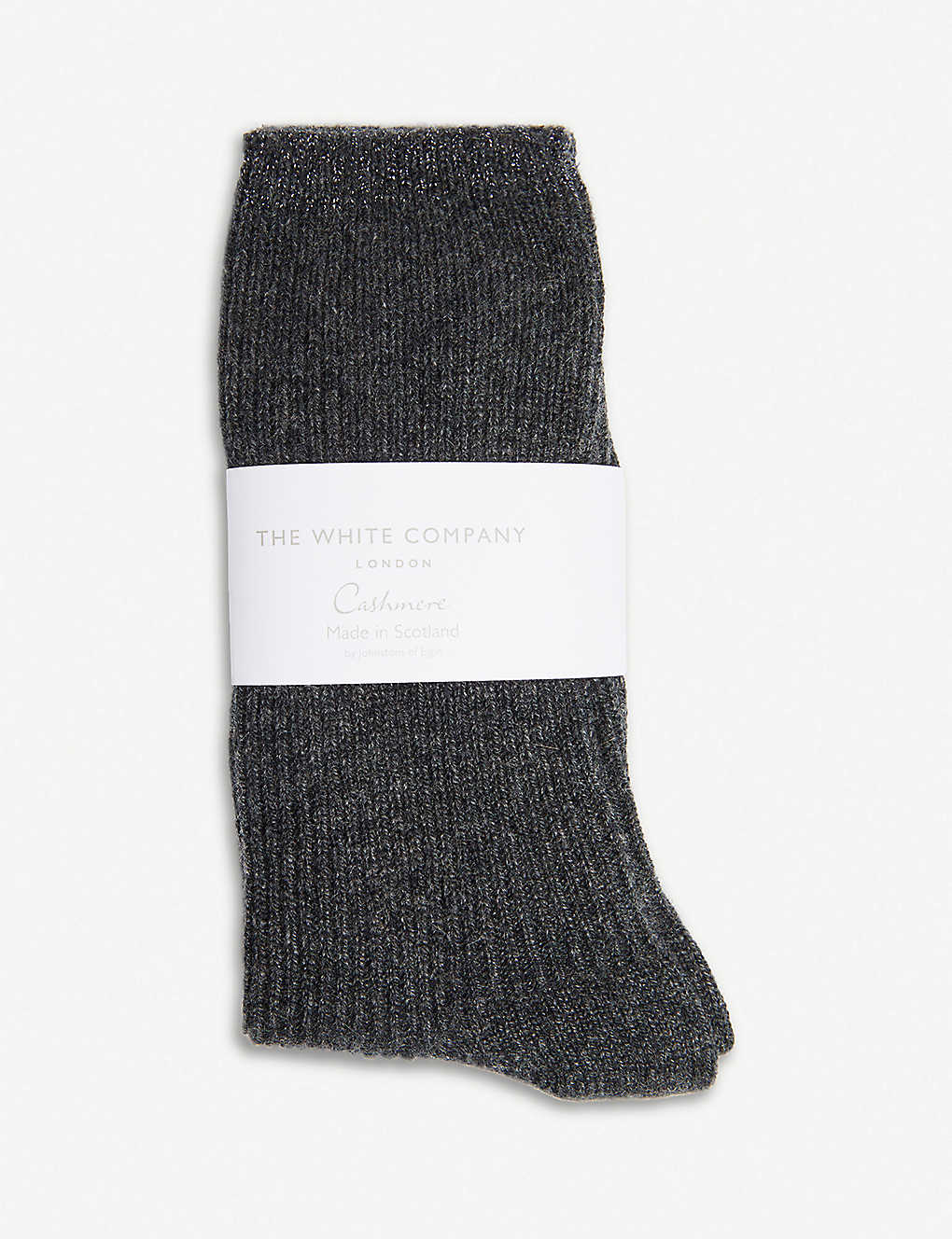 THE WHITE COMPANY: Ribbed cashmere bed socks