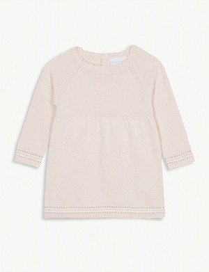 THE LITTLE WHITE COMPANY Knitted dress 0-24 months