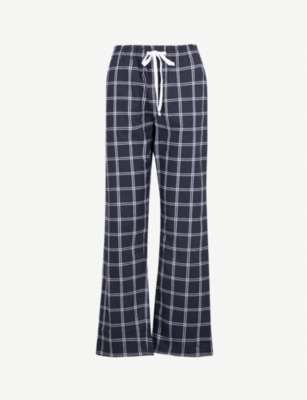 THE WHITE COMPANY Checked cotton pyjama trousers