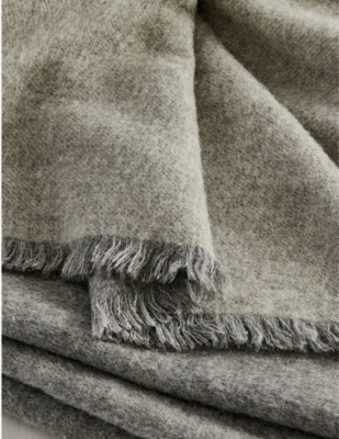 THE WHITE COMPANY Clifton alpaca-blend throw 200cm x 140cm