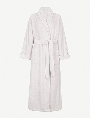 THE WHITE COMPANY 棉质毛巾布睡袍