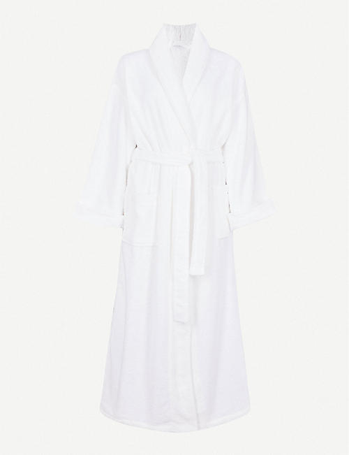 THE WHITE COMPANY: Cotton-towelling dressing gown