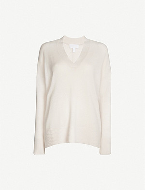 THE WHITE COMPANY Oversized cashmere jumper
