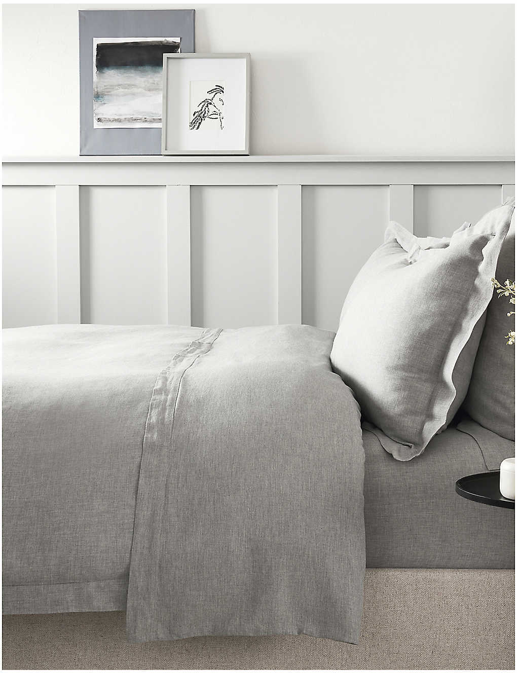 The White Company Evesham Cotton And Cashmere Blend Super King