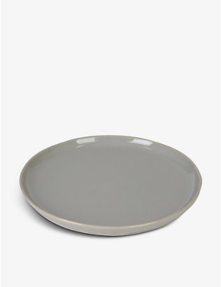 THE WHITE COMPANY: Portobello stoneware dinner plate 28cm
