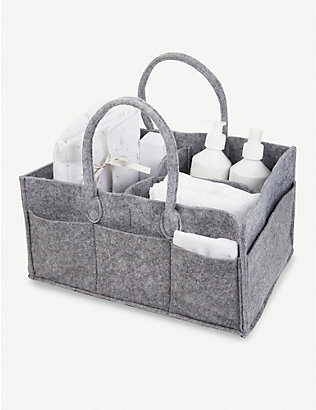 THE LITTLE WHITE COMPANY: Dream felt storage holdall unit