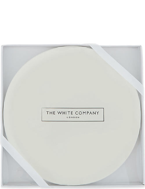 THE WHITE COMPANY Ceramic large botanical plate