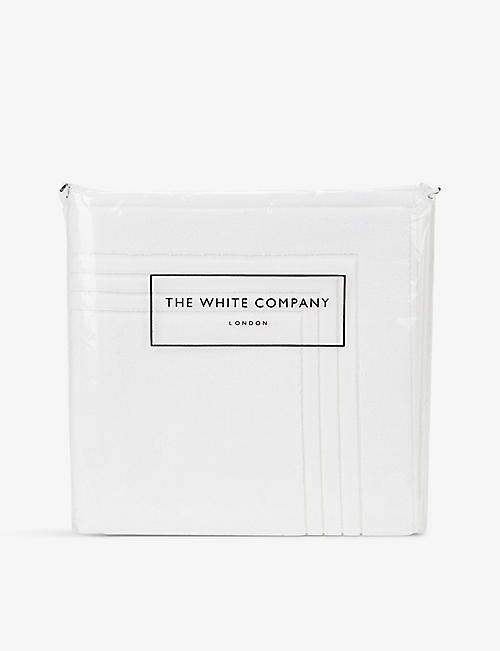 THE WHITE COMPANY: Egyptian cotton bathmat 90cmx60cm