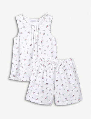 THE LITTLE WHITE COMPANY edie 棉质睡衣套装 1-6 岁