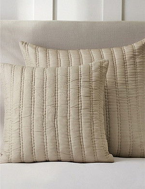 THE WHITE COMPANY Elgin silk cushion cover 65cm x 65cm