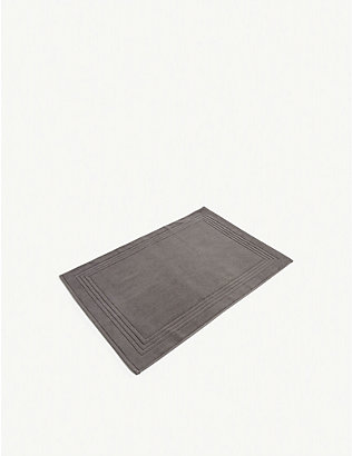THE WHITE COMPANY: Luxury egyptian-cotton bath mat 60cm x 90cm