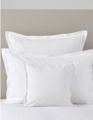 THE WHITE COMPANY Etienne large square cushion cover