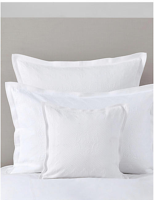 THE WHITE COMPANY Etienne small square cushion cover