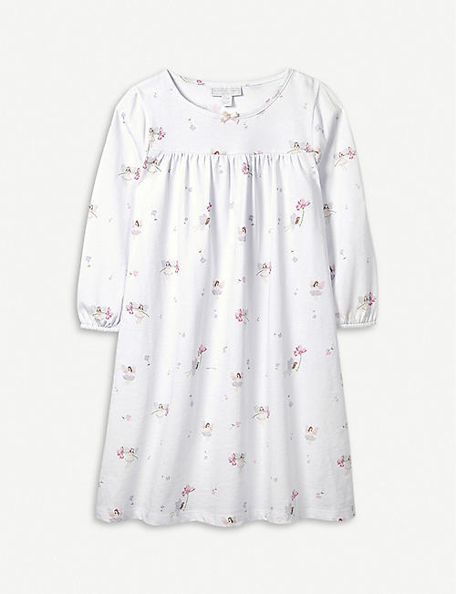 8e16b73f2a2b THE LITTLE WHITE COMPANY Eva Fairy cotton nightdress 7-12 years