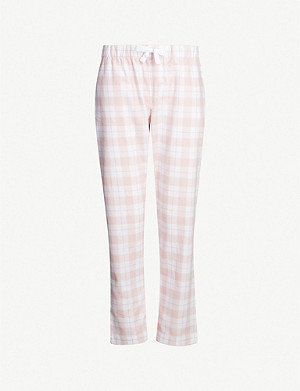 THE WHITE COMPANY Checked-print cotton pyjama bottoms