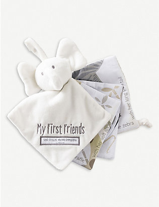 THE LITTLE WHITE COMPANY: My First Friends fabric book
