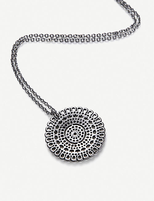 THE WHITE COMPANY Filigree quartz drop necklace