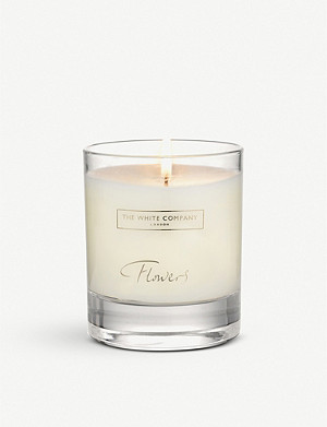 THE WHITE COMPANY Flowers scented candle 140g