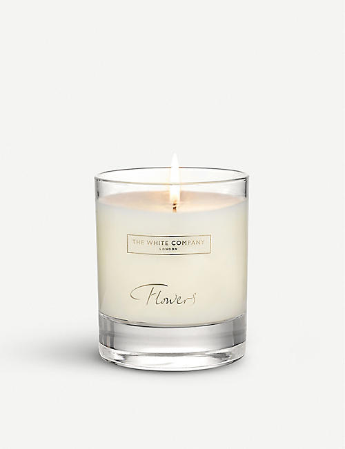 THE WHITE COMPANY: Flowers signature candle