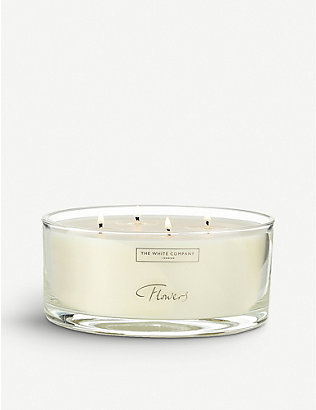 THE WHITE COMPANY: Flowers candle 770g