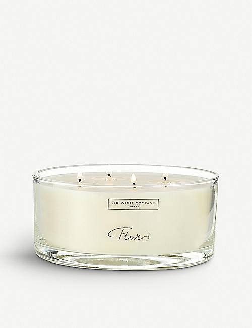 THE WHITE COMPANY Flowers candle 770g
