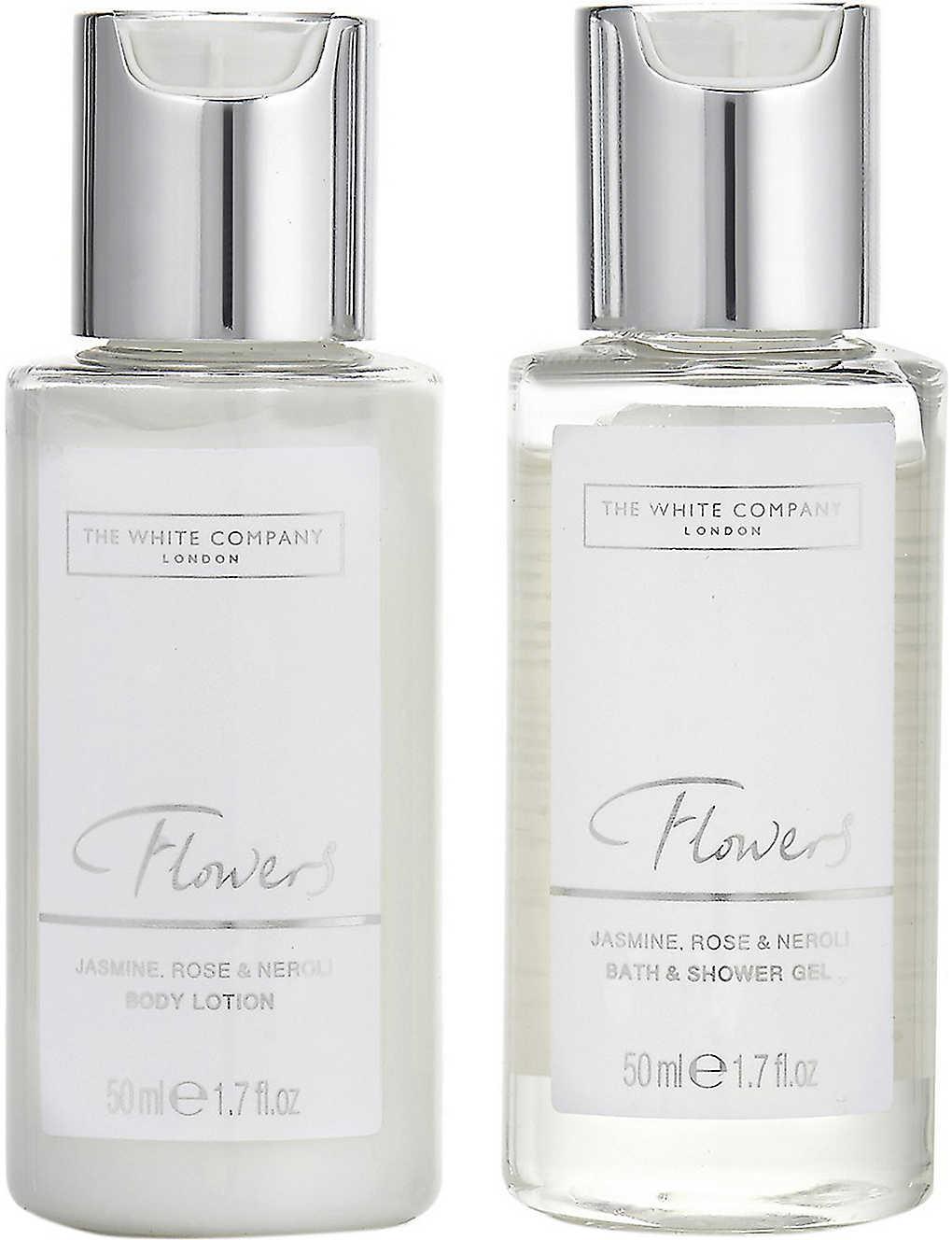 THE WHITE COMPANY - Flowers bath & body miniatures