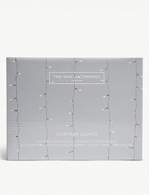 THE WHITE COMPANY LED curtain lights