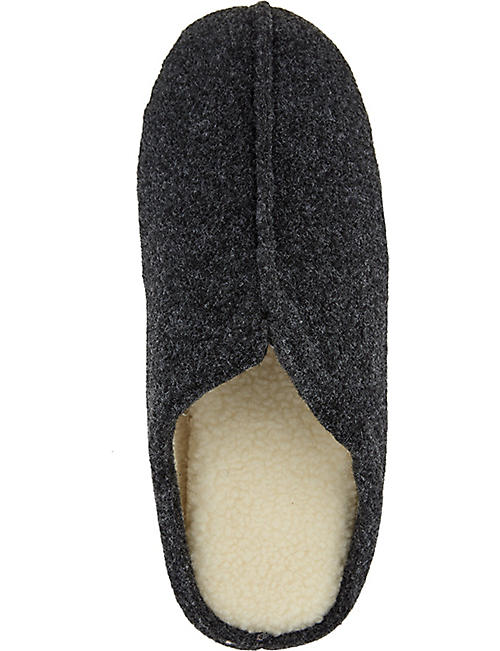 THE WHITE COMPANY Felt mule slippers
