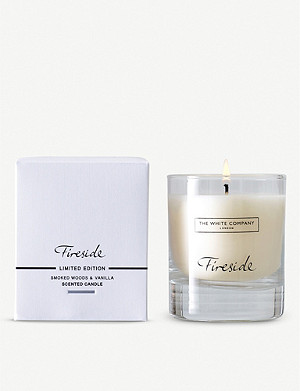 THE WHITE COMPANY Fireside scented candle 140g