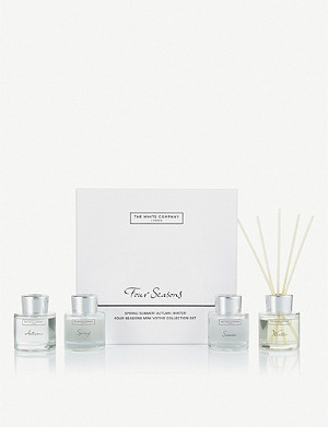 THE WHITE COMPANY Four season mini diffuser collection 4 x 50ml
