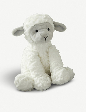 THE LITTLE WHITE COMPANY Fuddlewuddle lamb plush toy 23cm